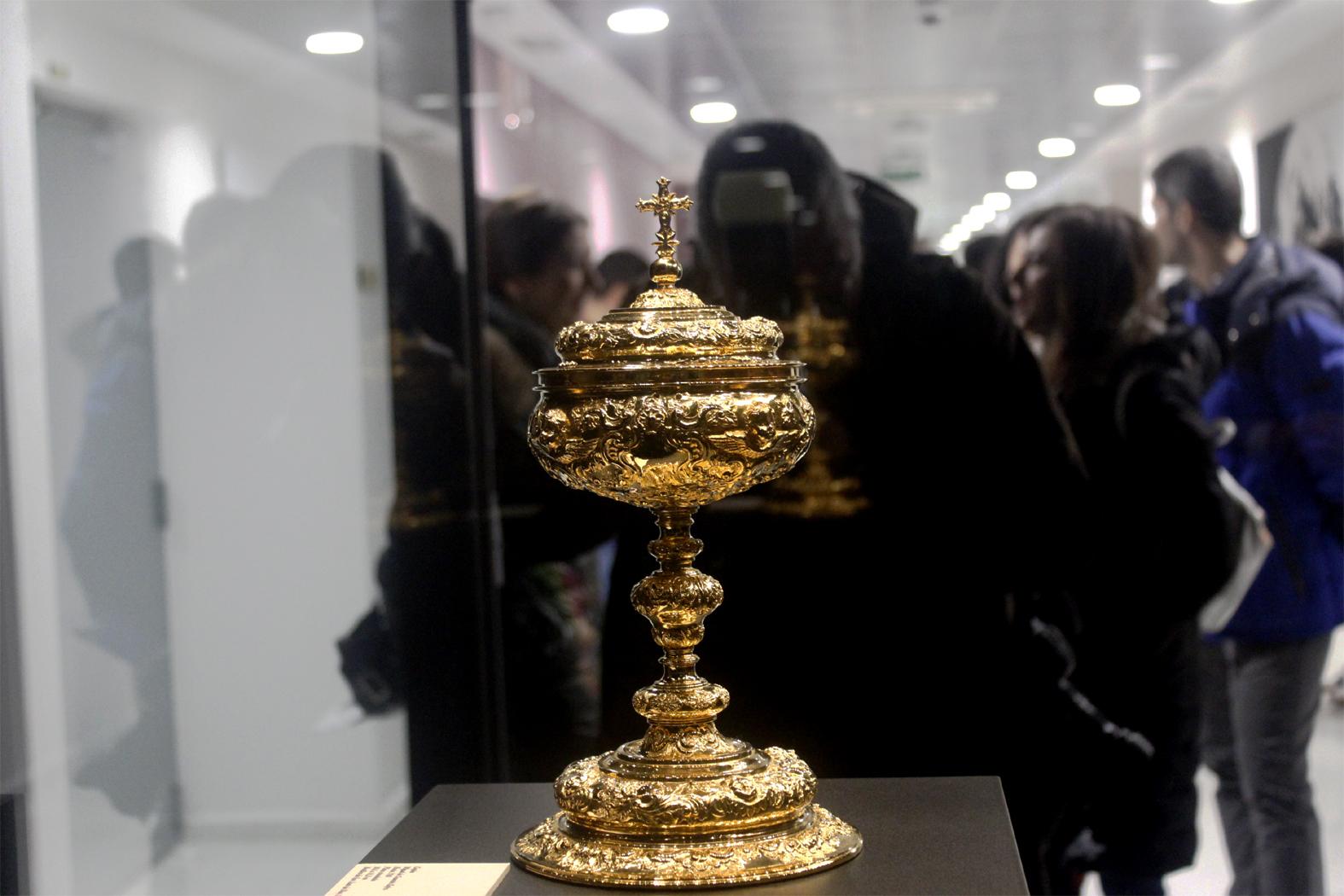 Exponen hasta el 6 de mayo tres tesoros de 'Oro y Plata'