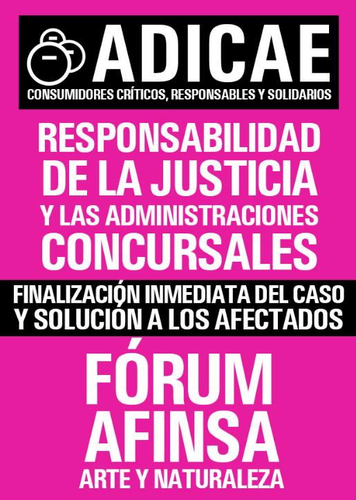 Manifiesto por el 13 Aniversario del fraude de Fórum, Afinsa y AyN
