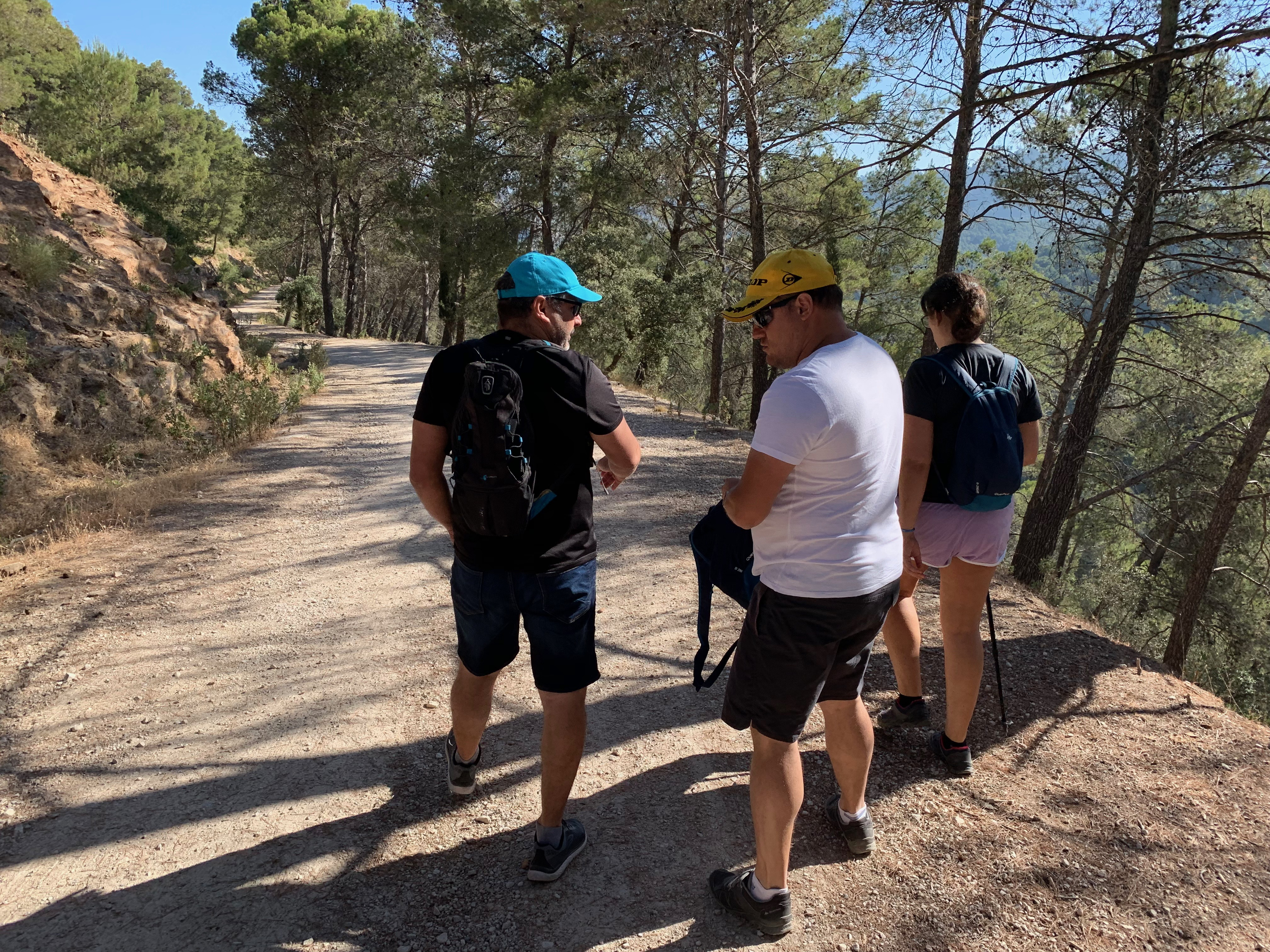 ADICAE Málaga organizó una jornada de senderismo para los consumidores