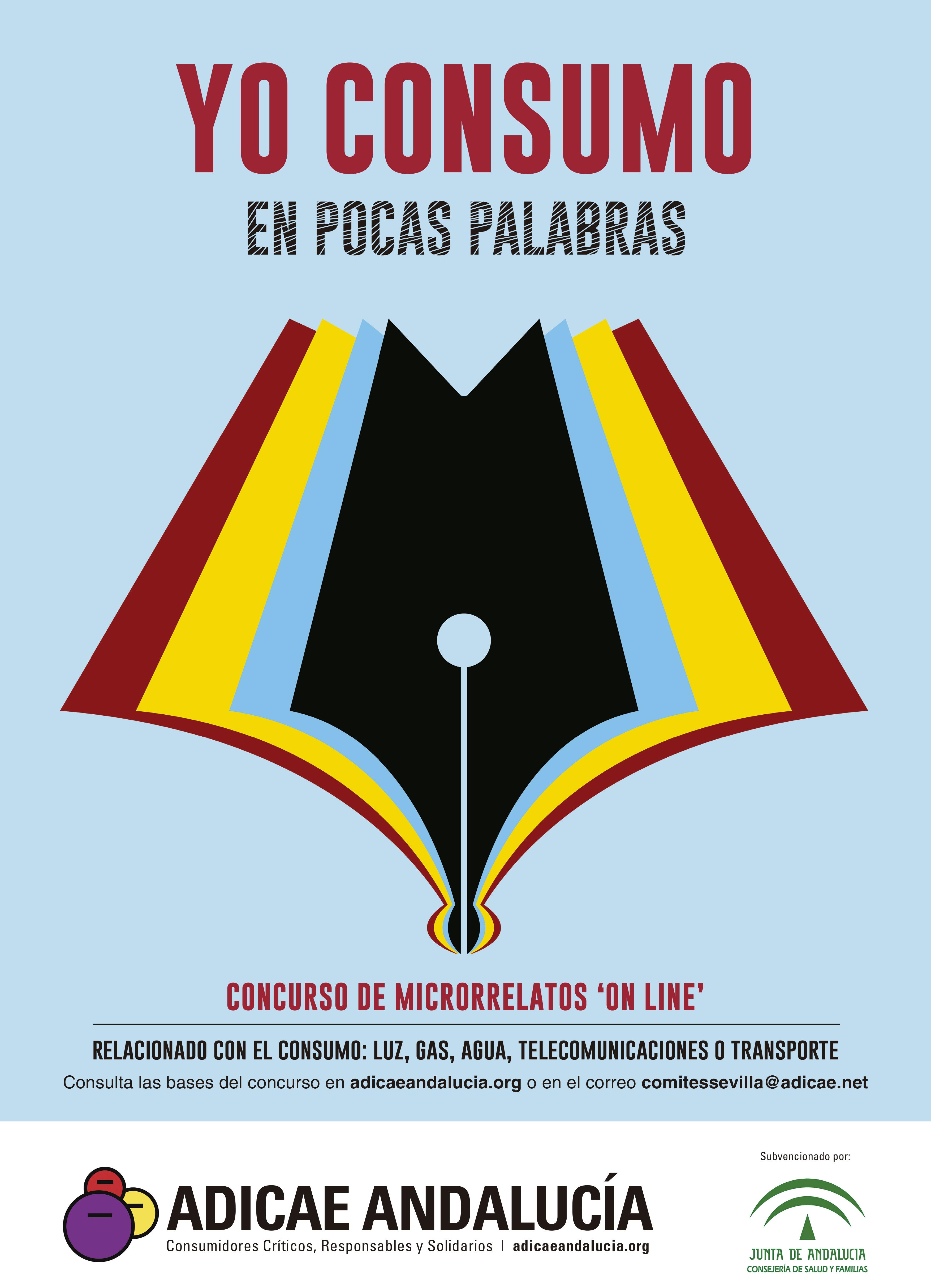 ADICAE Andalucía desvela la palabra de esta semana para participar en el concurso de microrrelatos