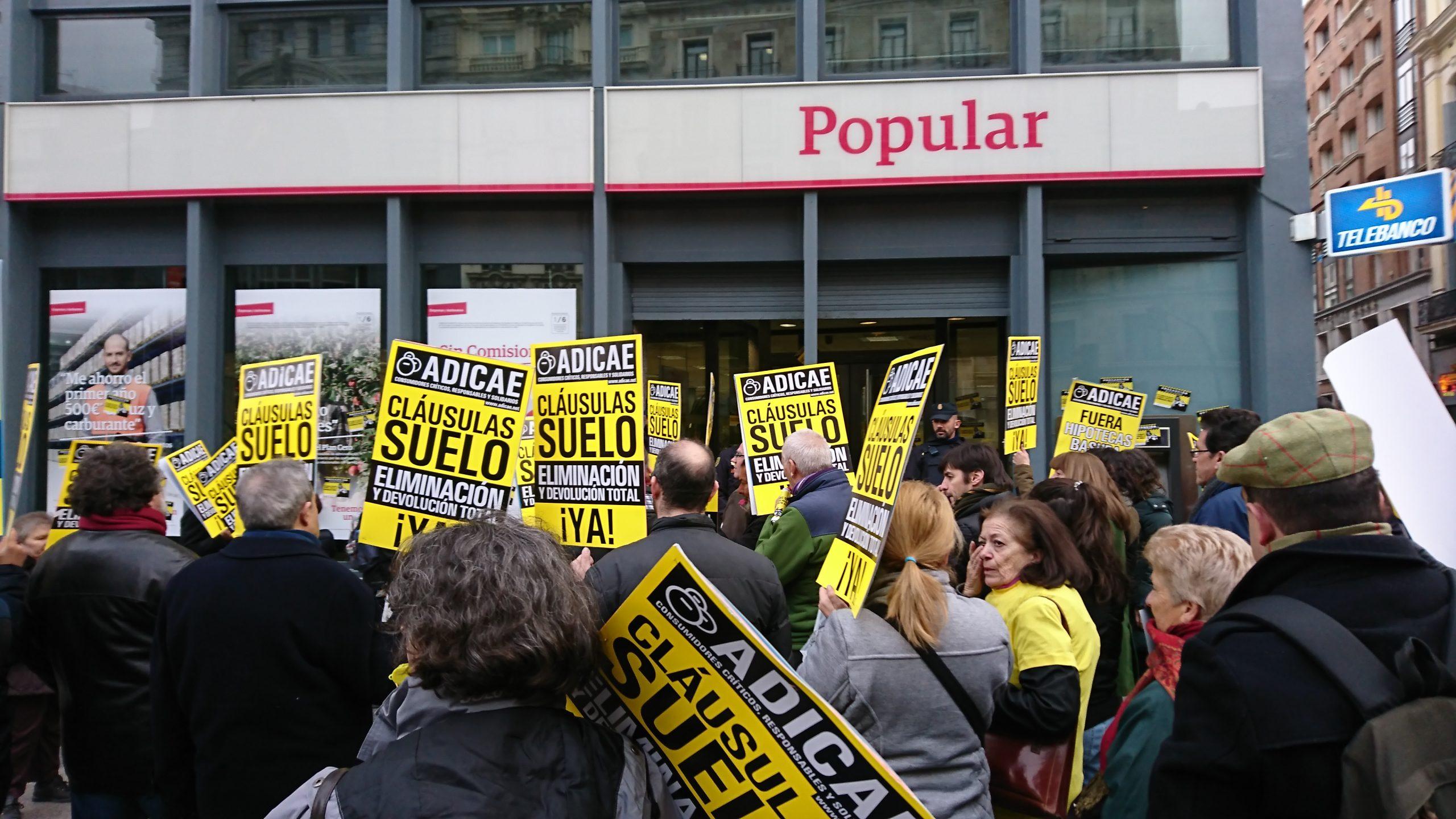 """ADICAE celebra el fallo del TJUE que condena el engaño masivo en los acuerdos sobre """"cláusulas suelo"""""""